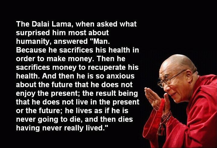 Dalai Lama Big Picture quote for man