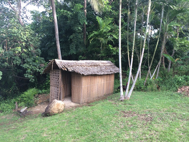 The toilet and bathroom - Papua New Guinea village stay