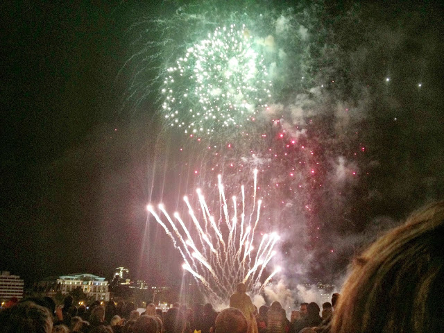 Lord Mayors Show Fireworks - November 2013