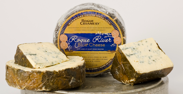 Rogue River Blue - My favourite, seasonal blue cheese