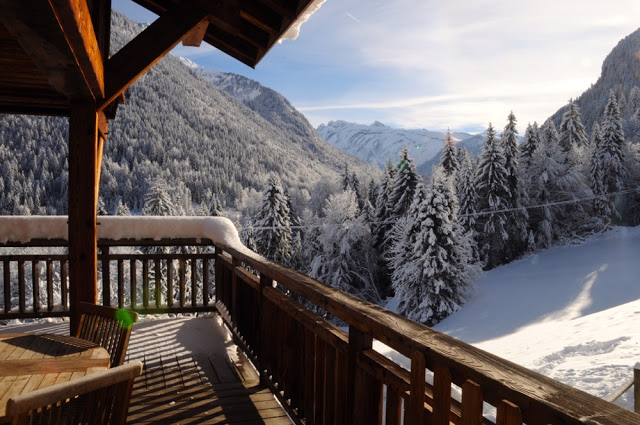The view from Chalet Des Amis chalet - Morgan Jupe, Morzine