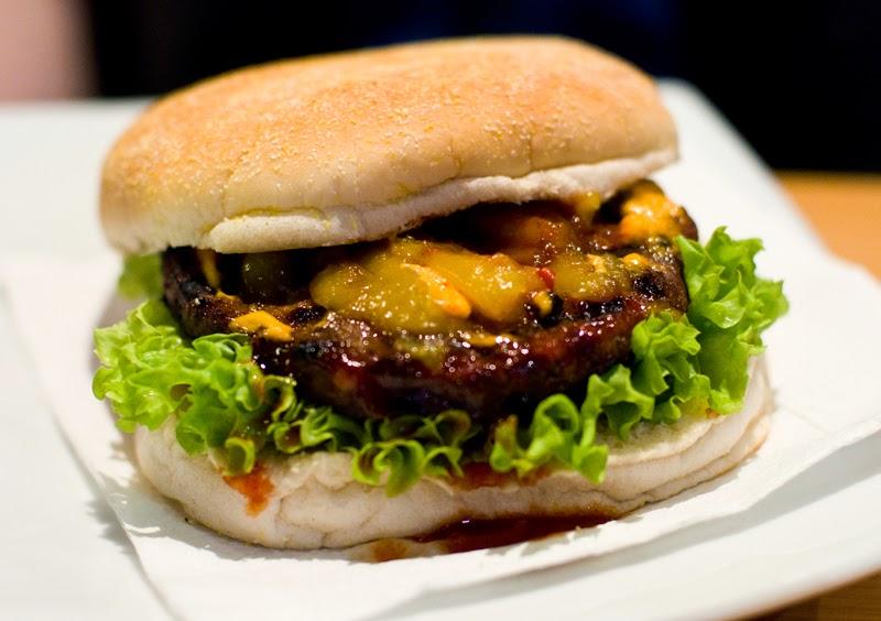 The Hottie - from Velvet Burger, Auckland