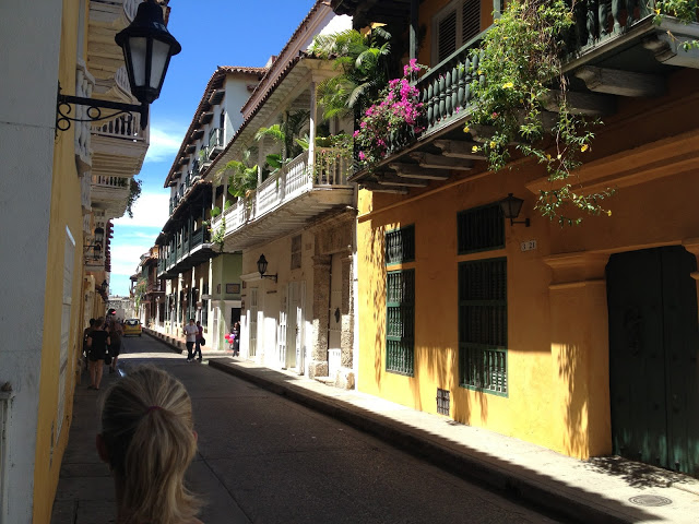 Wandering the streets of Cartagena