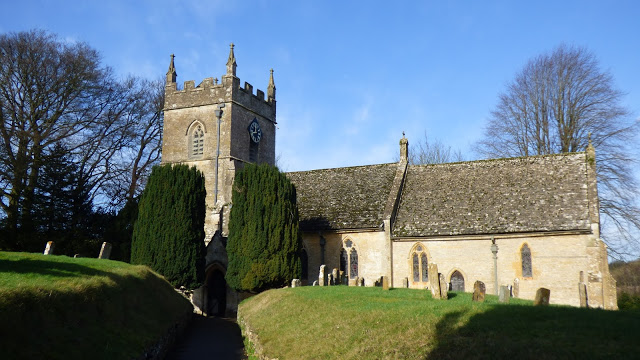 St. Peter's Church - Upper Slaughter - Cotswolds