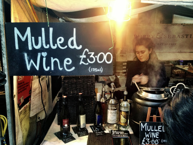 Mulled Wine - Real Food Market, South bank, London