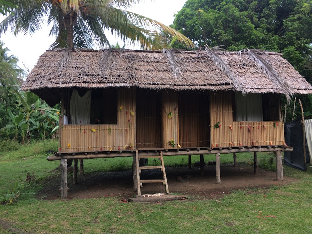 Our authentic Papua New Guinea village accommodation in Kofure :)
