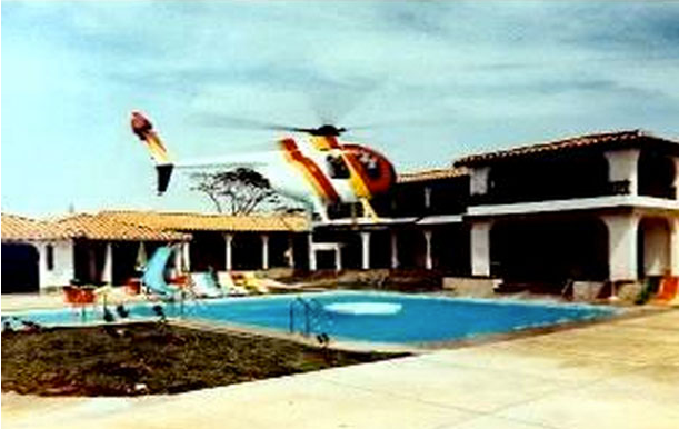 Hacienda Napoles - the home of Pablo Escobar in the 80's