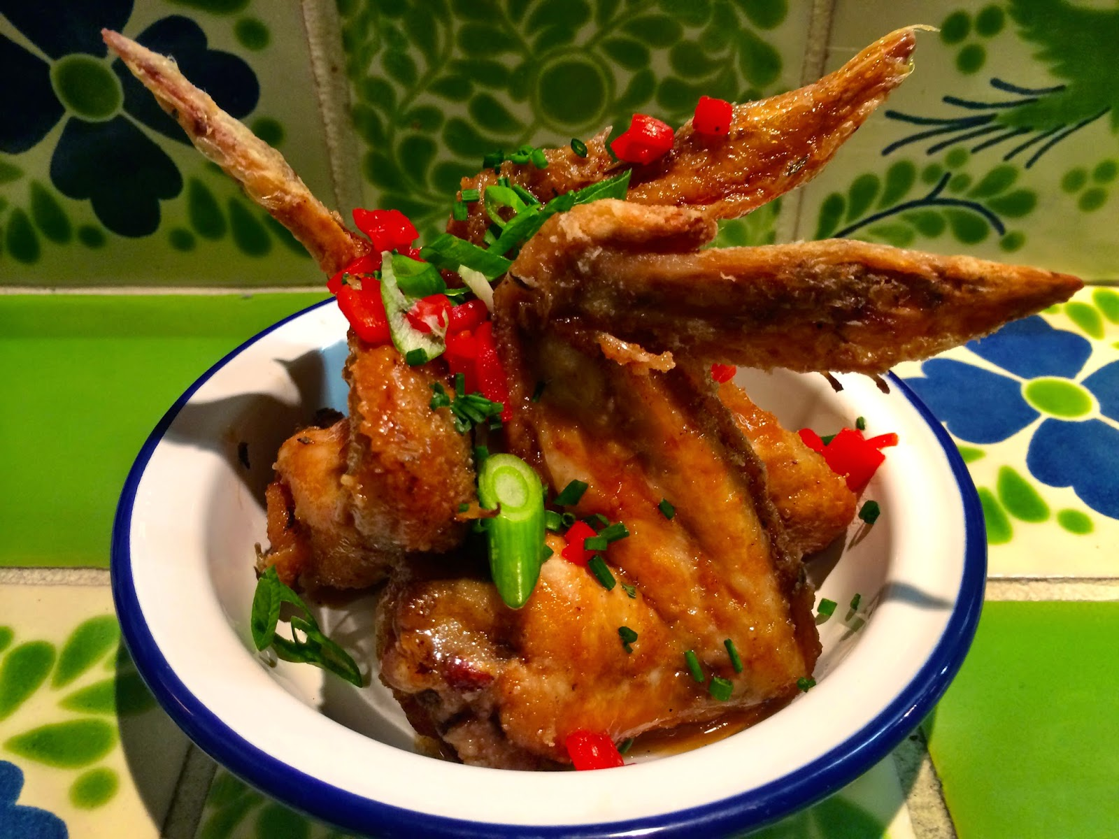 Smokey citrus chilli chicken wings - Senor Ceviche