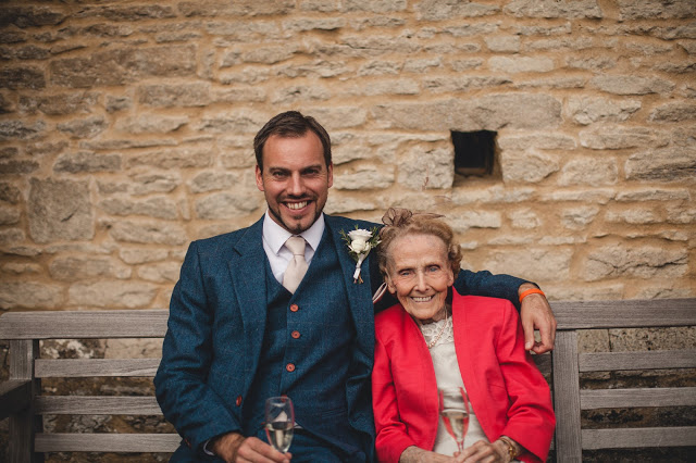 Simon Heyes and grandma