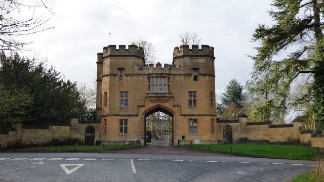A castle-like entrance to Sudeley Castle - Costwolds