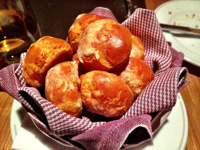 Gruyere Cheese Puff Balls - Bar Boulud