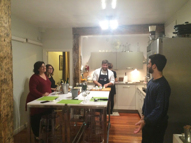 The chefs kitchen - San Sebastian cooking class - Basque Country