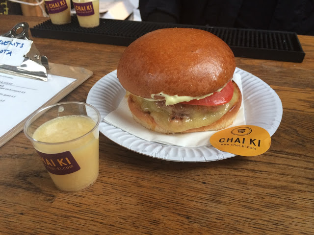 Chai Ki Toddy Shop Slider Burger - National Burger Day 2015