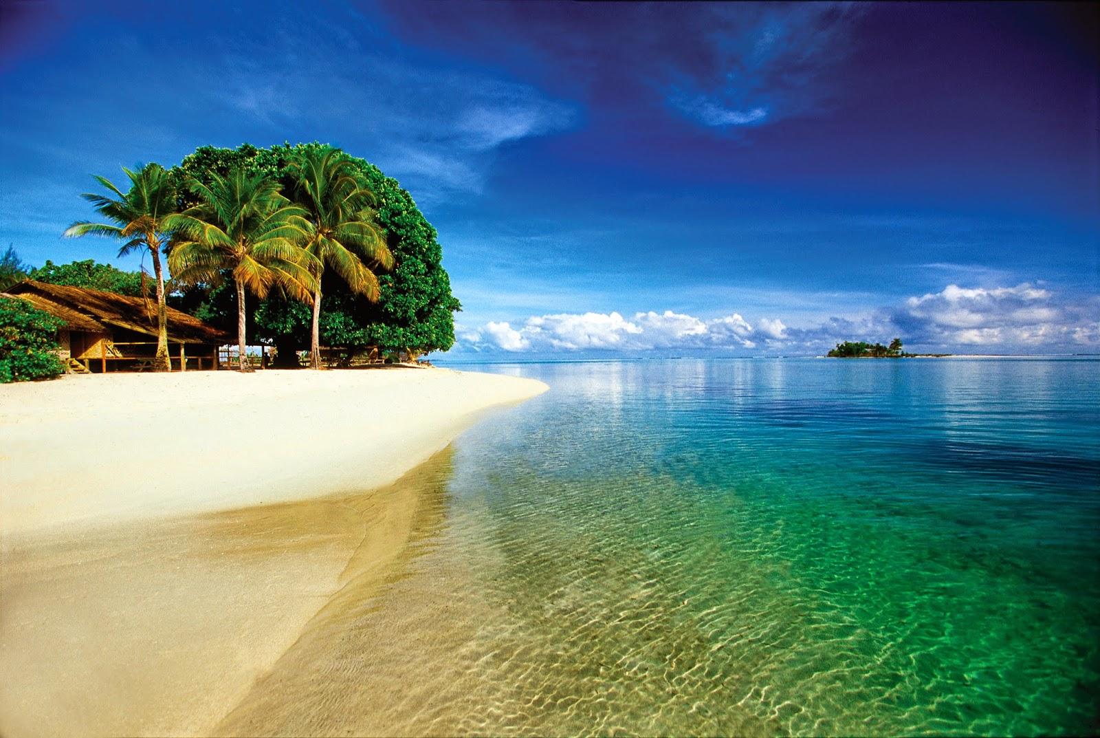 A REMOTE ISLAND NEAR NEW IRELAND - Papua New Guinea