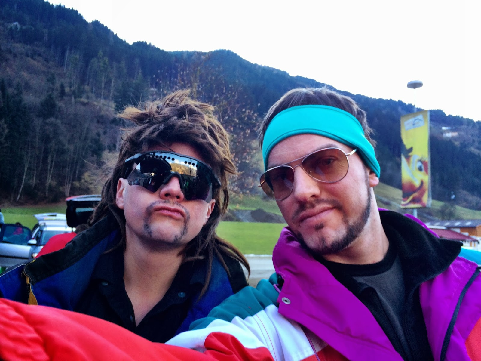 80's fancy dress - Mayrhofen