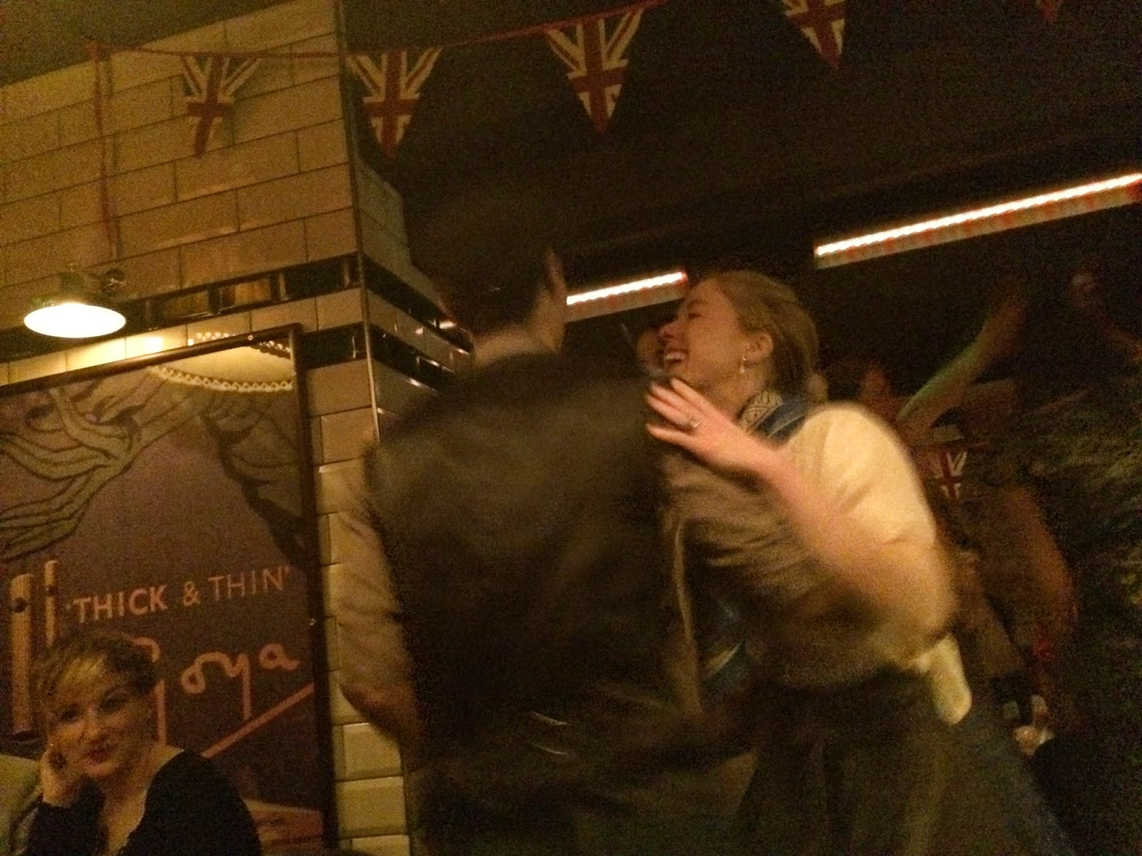 Swing dancers at Cahoots London
