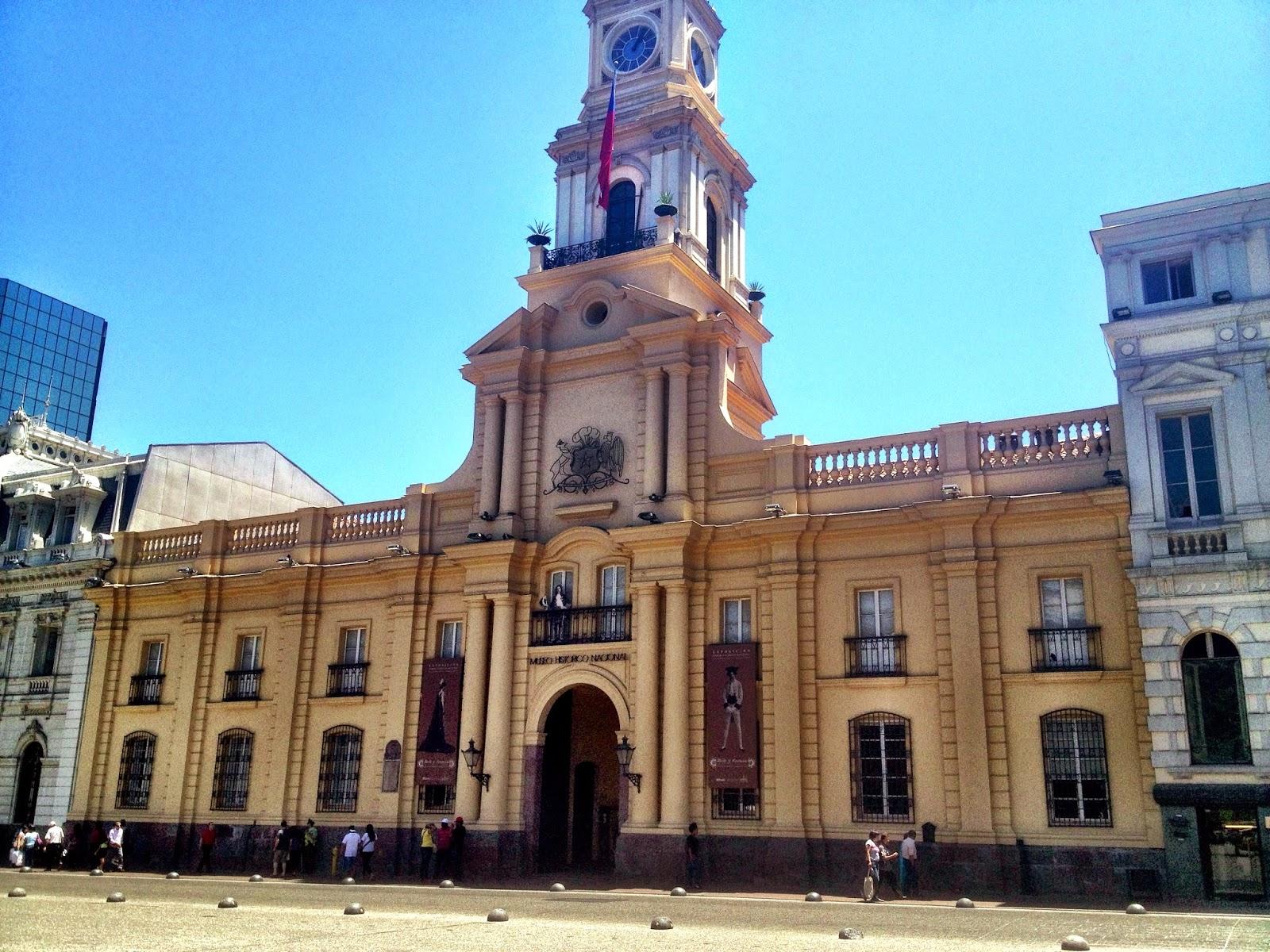 Post office building in Santiago