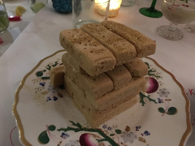 Glittery shortbread jenga - Christabels