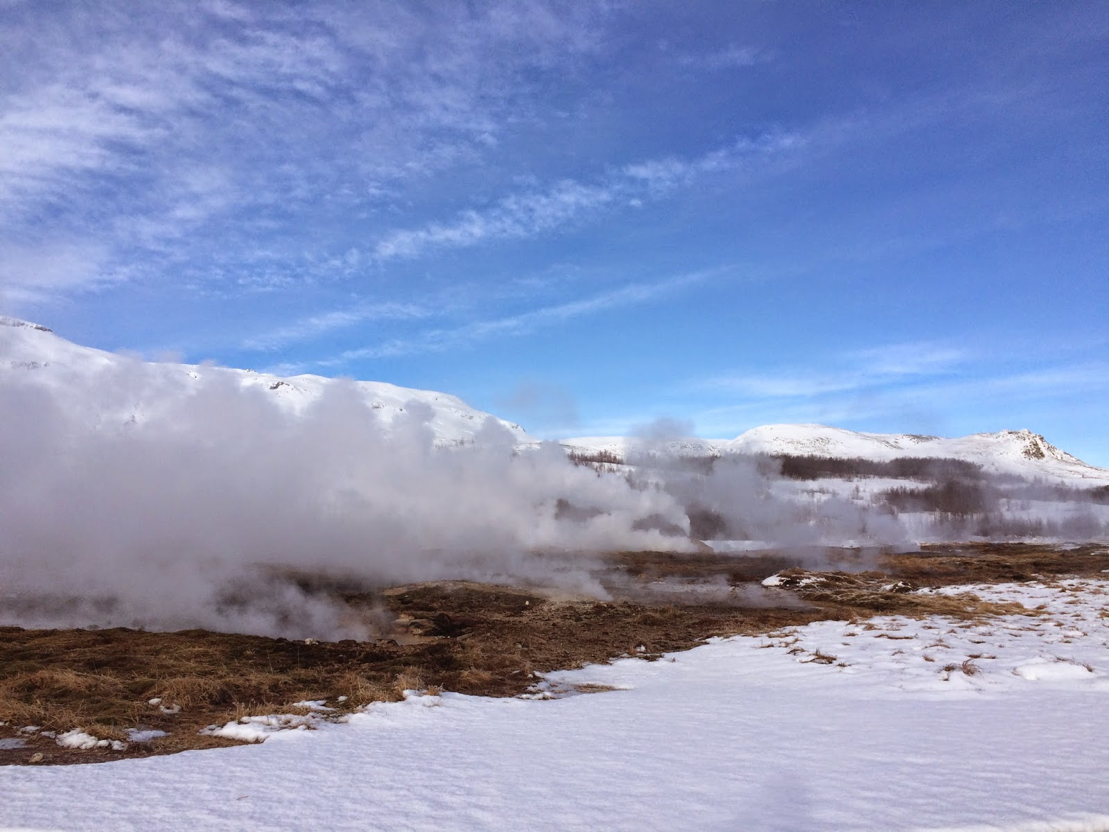 The Geysir geo-thermal area - Golden Circle Tour - Iceland