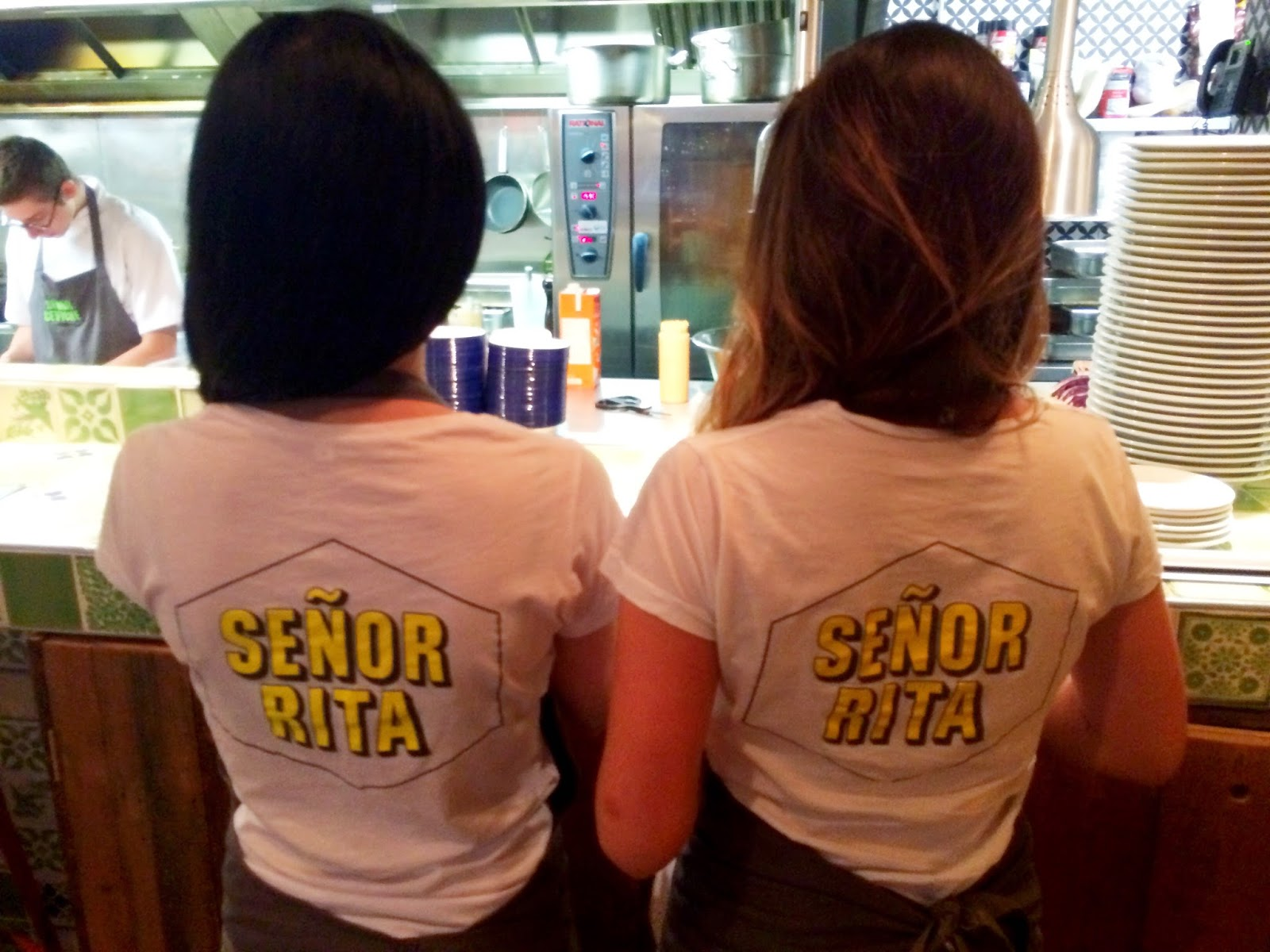 The senor ritas at Senor Ceviche - Kingly Court, Soho, London