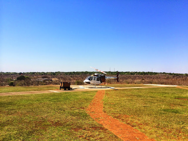 Getting ready for take off - Zimbabwe
