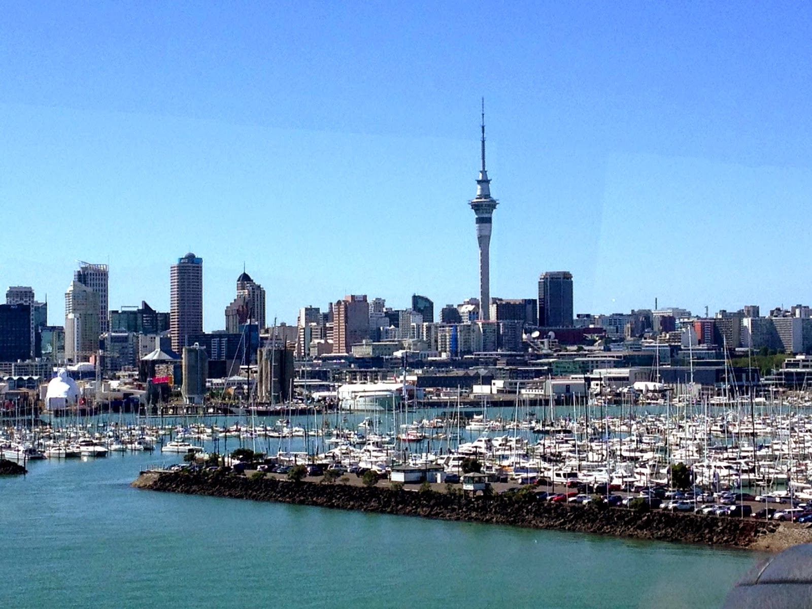 The stunning City of Sails - Auckland, New Zealand
