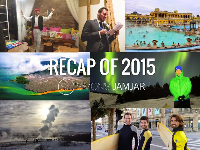 Recap Of 2015 - Simon's JamJar - Simon Heyes