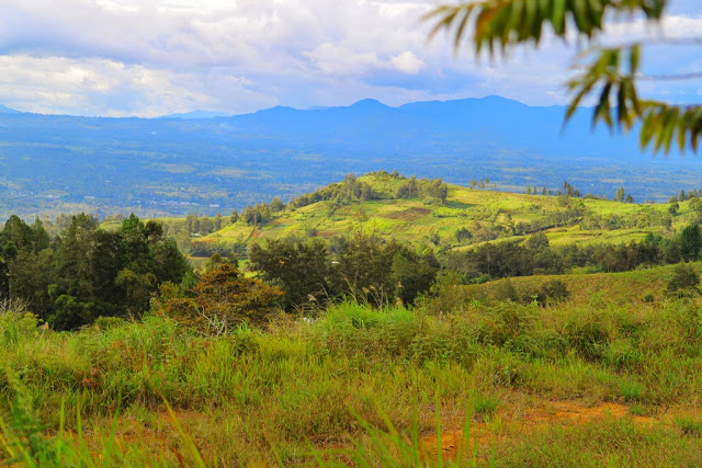 The view from Rondon Ridge - Papua New Guinea