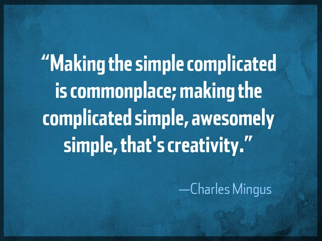 Charles Mingus Creativity Quote