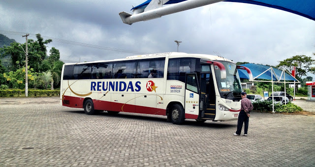 Reunidas bus in Brazil