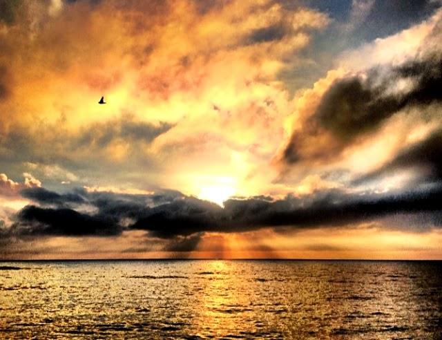 Sunrise in Gisborne, New Zealand