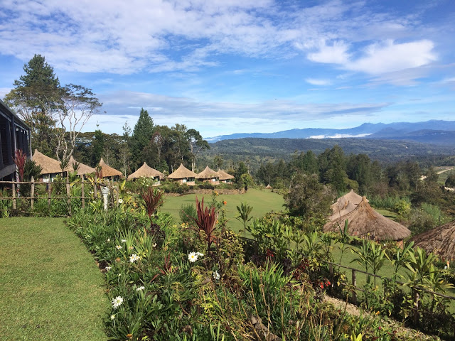 The views from Ambua Lodge, Tari, Papua New Guinea