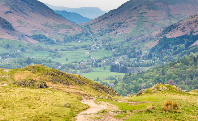 The views from Loughrigg Fell, Lake District