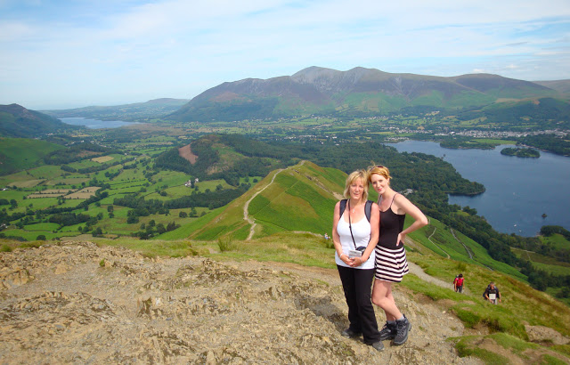 The views looking back towards Keswick from Catbells