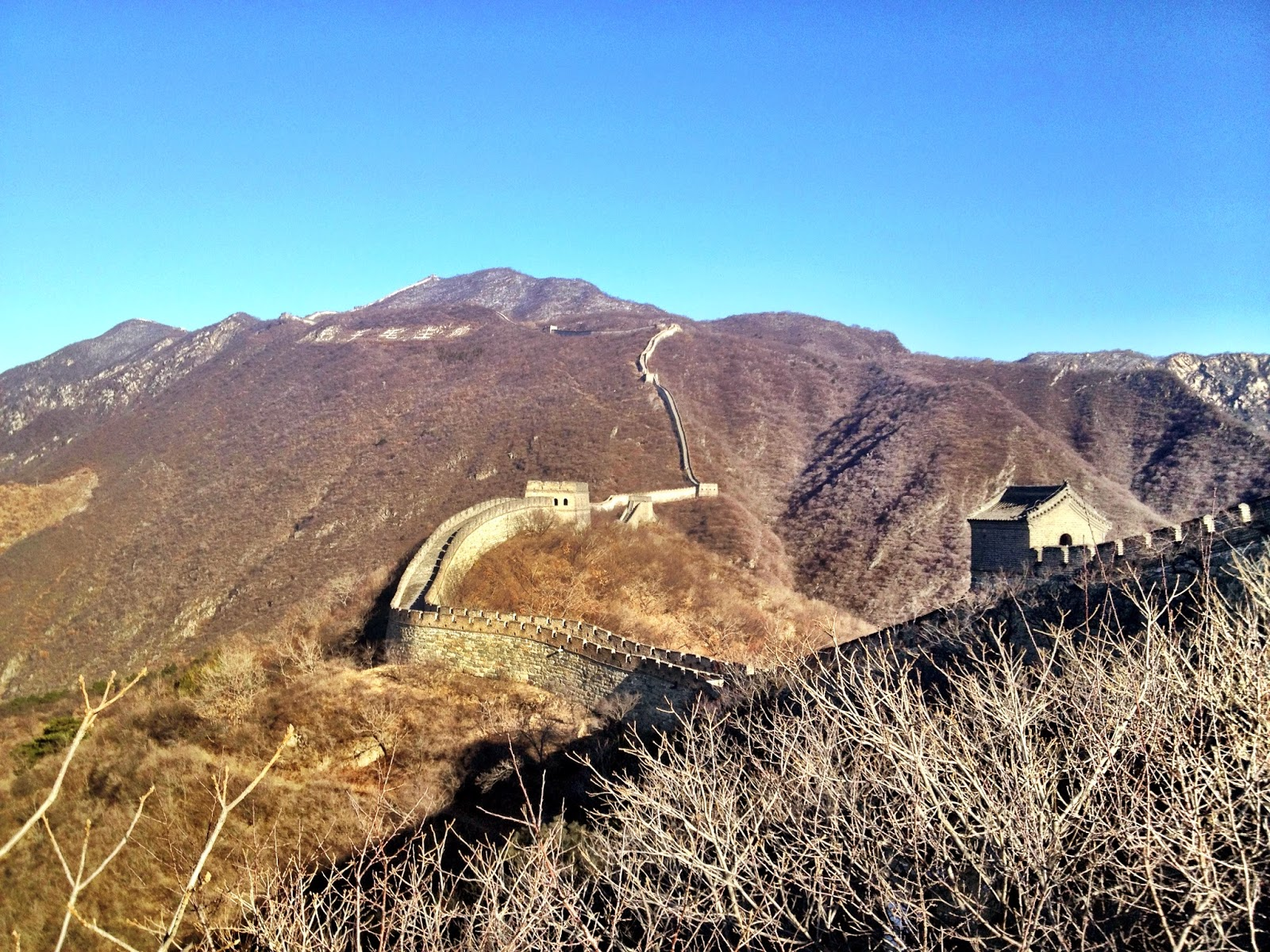 The Great Wall goes on for miles - as far as London to Texas in fact!