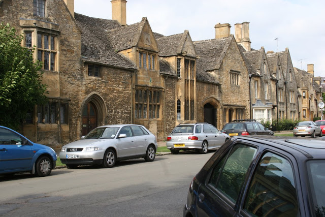 Chipping Campden pretty houses, Cotswolds