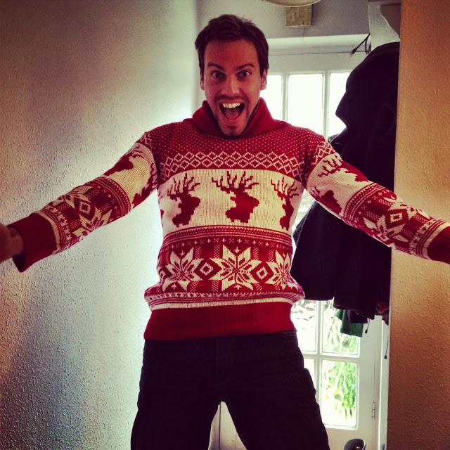 Simon's Christmas Jumper - 2013