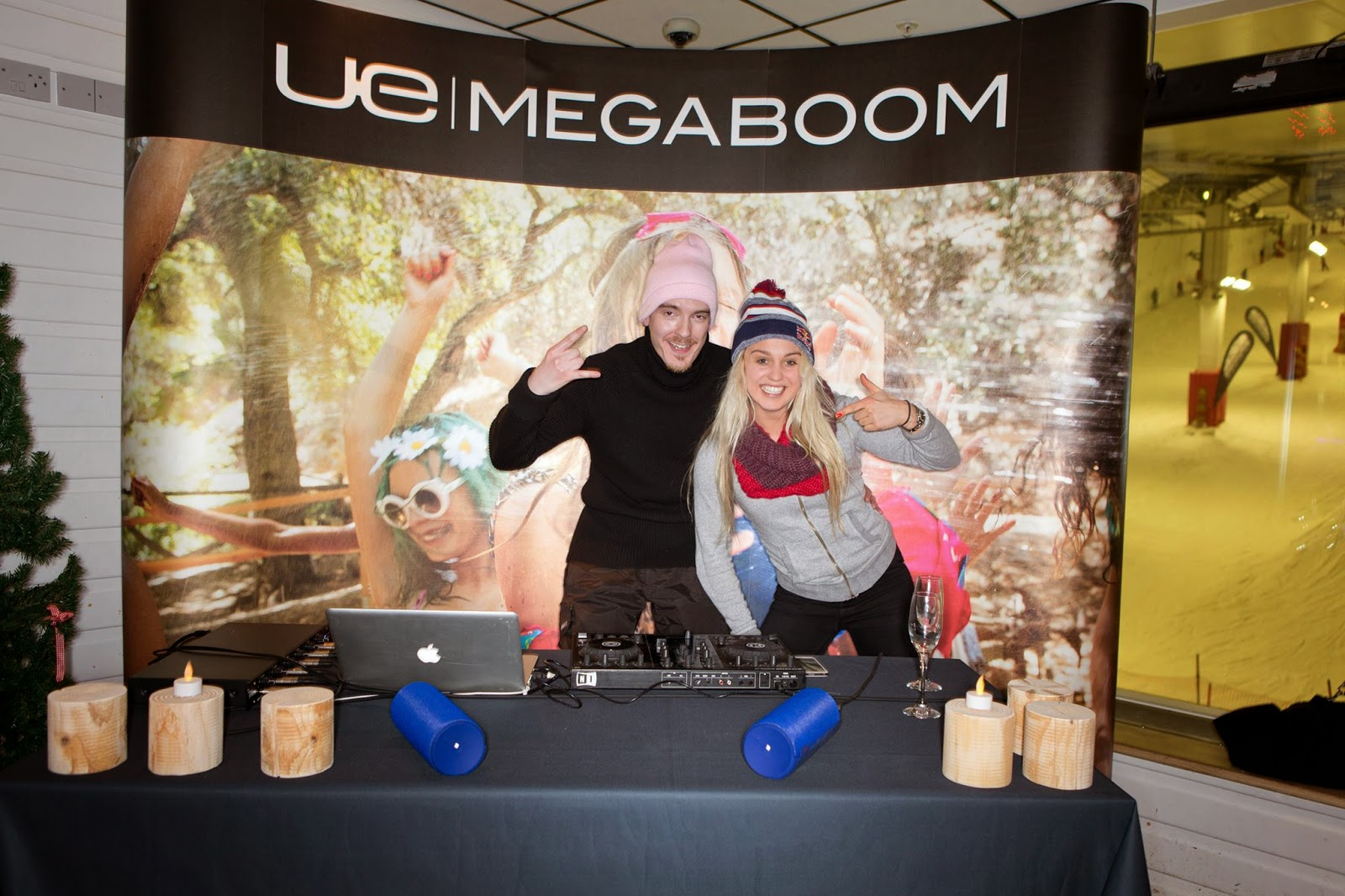 Aimee Fuller at the UE Megaboom launch event