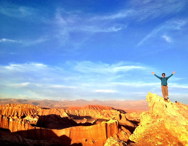 Simon at the Valley Of The Moon - Atacama Desert