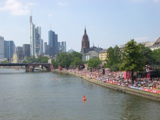Frankfurt from the Main