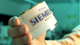 Siemens Paper-Thin TV Screen